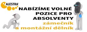 Volné pracovní místa ve společnosti Alestra