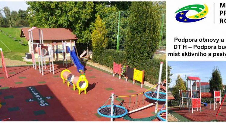 Dotace - dětská hřiště pro rok 2021